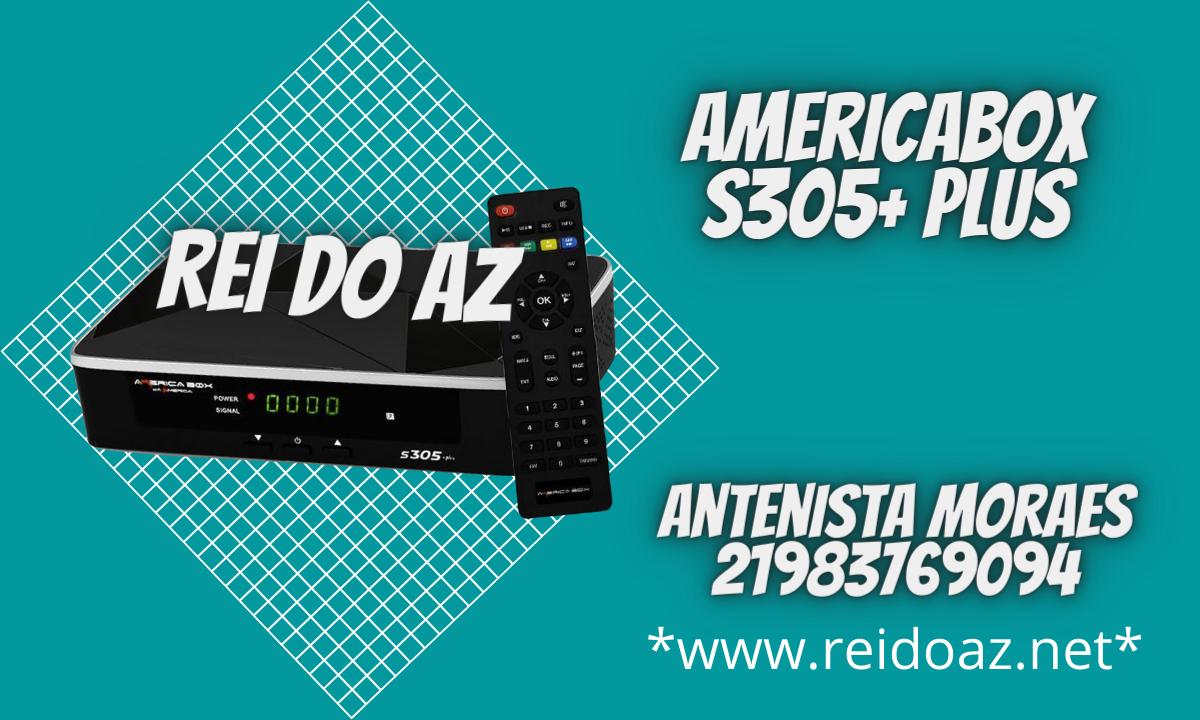 Atualização Americabox S305+ Plus