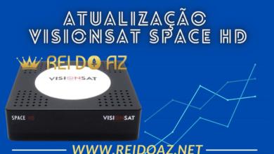 Atualização Visionsat Space HD