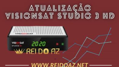 Atualização Visionsat Studio 3 HD